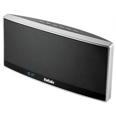 Портативная акустика BBK BTA120 черный/металлик (BTA120 черный/металлик)