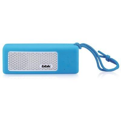 Портативная акустика BBK BTA190 синий (BTA190 синий)Портативная акустика BBK<br>Беспроводная (bluetooth) акустика BBK BTA190 синий<br>