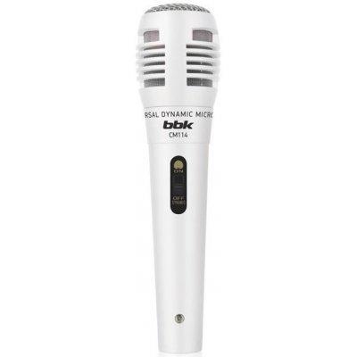Микрофон BBK CM114 белый (CM114 белый)