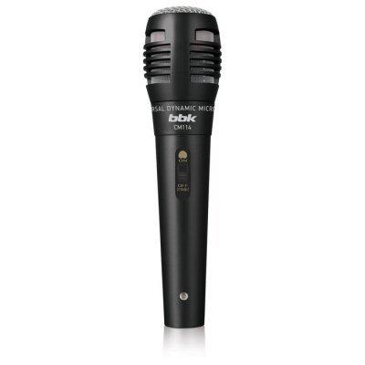 цена на Микрофон BBK CM114 черный (CM114 черный)