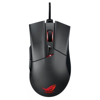 Мышь ASUS ROG Gladius Black USB (90MP0081-B0UA00) мышь asus strix claw black usb 90yh00c1 baua00