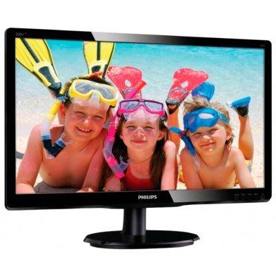 Монитор Philips 19,5 200V4QSBR (200V4QSBR(00/01))Мониторы Philips<br>ЖК-монитор с диагональю 19.5<br>    тип ЖК-матрицы TFT MVA<br>    разрешение 1920x1080 (16:9)<br>    светодиодная (LED) подсветка<br>    подключение: VGA, DVI<br>    яркость 250 кд/м2<br>    контрастность 3000:1<br>    время отклика 8 мс<br>