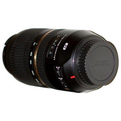 Объектив для фотоаппарата Tamron SP AF 70-300mm f/4.0-5.6 Di VC USD Canon EF (A005E)Объективы для фотоаппарата Tamron <br>Zoom-телеобъектив<br>    крепление Canon EF и EF-S<br>    встроенный стабилизатор изображения<br>    автоматическая фокусировка<br>    минимальное расстояние фокусировки 1.5 м<br>    размеры (DхL): 81.5x142.7 мм<br>    вес: 765 г<br>