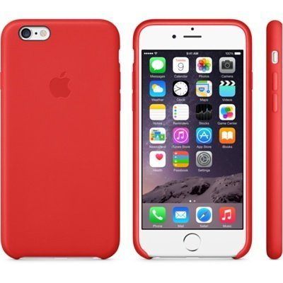 Чехол для смартфона Apple для iPhone 6 Plus MGQY2ZM/A красный (MGQY2ZM/A) (MGQY2ZM/A)Чехлы для смартфонов Apple<br>Чехол (клип-кейс) Apple для Apple iPhone 6 Plus MGQY2ZM/A красный (MGQY2ZM/A)<br>