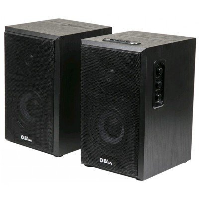 Компьютерная акустика Dialog AB-47B черный (AB-47B black)Компьютерная акустика Dialog<br>Колонки Dialog Blues AB-47B BLACK,40W,RMS-2.0 2.0, 2*18W RMS, Bluetooth, USB+SD reader<br>