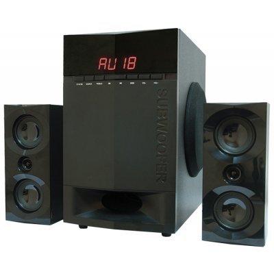 Компьютерная акустика Dialog AP-230 (AP-230 black)Компьютерная акустика Dialog<br>Колонки Dialog Progressive AP-230 BLACK 2.1, 35W+2*15W RMS, Bluetooth, USB+SD reader<br>