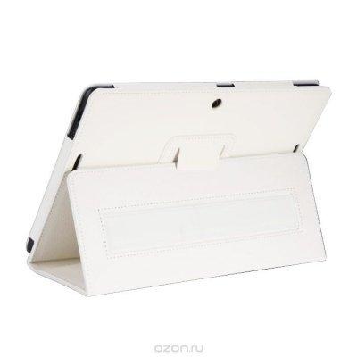 Чехол для планшета IT Baggage для MeMO Pad 10 ME103K белый ITASME103K-0 (ITASME103K-0)Чехлы для планшетов IT Baggage<br>Чехол IT BAGGAGE для планшета ASUS MeMO Pad 10 ME103K искус. кожа белый  ITASME103K-0<br>