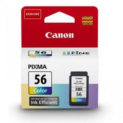 Картридж для струйных аппаратов Canon CL-56 (9064B001)Картриджи для струйных аппаратов Canon<br>Картридж Canon  CL-56 для PIXMA E464. Цветной. 300 страниц.<br>