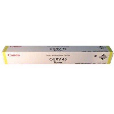 Тонер-картридж для лазерных аппаратов Canon C-EXV45 Y Жёлтый. (6948B002)Тонер-картриджи для лазерных аппаратов Canon<br>Тонер-картридж Canon C-EXV45 Y для iR ADV C7260i/C7270i /C7280i . Жёлтый.<br>