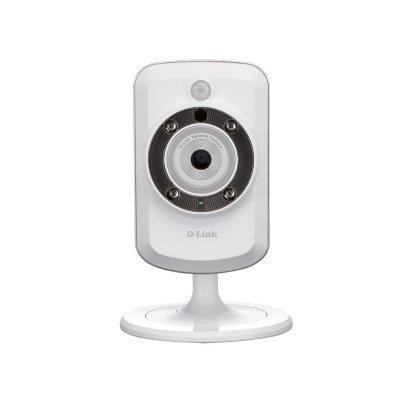 Камера видеонаблюдения D-Link DCS-942L/B1A (DCS-942L/B1A)Камеры видеонаблюдения D-Link<br>Камера D-Link DCS-942L/B1A Беспроводная облачная сетевая камера с поддержкой ночной съемки<br>