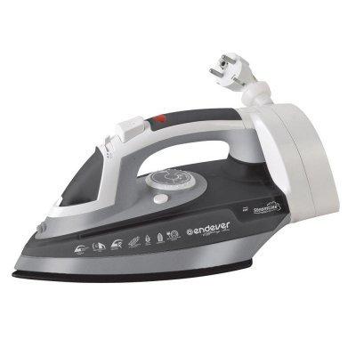 Утюг Endever Skysteam-706 (Skysteam-706)Утюги Endever<br>Бренд: ENDEVER, Мощность: 2200, Подошва: нержавеющая сталь, Цветовое оформление корпуса: серый<br>