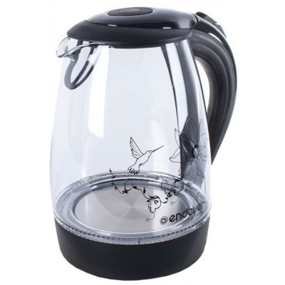 Электрический чайник Endever Skyline KR-307G (Skyline KR-307G)Электрические чайники Endever<br>чайник<br>    объем 1.7 л<br>    мощность 2200 Вт<br>    закрытая спираль<br>    установка на подставку в любом положении<br>    корпус из пластика и стекла<br>    индикация включения<br>    подсветка корпуса<br>    вес 1.1 кг<br>