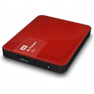 Внешний жесткий диск Western Digital WDBBRL5000ABY-EEUE (WDBBRL5000ABY-EEUE)Внешние жесткие диски Western Digital<br>Western Digital My Passport Ultra 2.5 500Gb USB 3.0 WDBBRL5000ABY-EEUE Red<br>