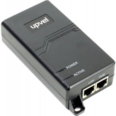 Сплиттер UPVEL UP-105GI ( )Сплиттеры UPVEL<br>PoE-сплиттер UPVEL UP-105GI Гигабитный PoE+ инжектор, максимальная выходная мощность 31,8 Вт., защит<br>
