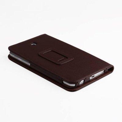 Чехол для планшета IT Baggage для Galaxy Tab4 7.0 коричневый ITSSGT7402-2 (ITSSGT7402-2)