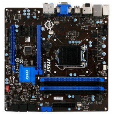 Материнская плата ПК MSI B85M-G43 (B85M-G43)Материнские платы ПК MSI<br>MSI B85M-G43 (Socket 1150, intel B85, All Solid CAP, 4DDR3, 2PCIe x16, 2PCIe x1, CrossFire, 4SATA6Gb/s, 4USB3.0, GbE LAN, HDMI, DP, DVI, D-SUB, mATX<br>