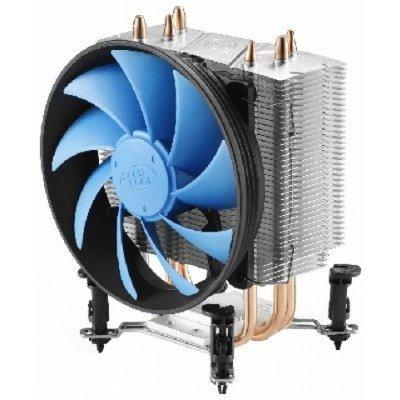 Кулер для процессора DeepCool GAMMAXX 300 (GAMMAXX300)Кулеры для процессоров DeepCool<br>Кулер DeepCool GAMMAXX 300 1366/1156/775/ FM1 All Series/AM2/AM3  3 тепловые трубки+Медное основание<br>