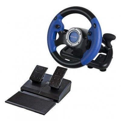 Руль проводной Defender Challenge Turbo GT (Challenge Turbo GT)Рули проводные Defender<br>Руль Defender Challenge Turbo GT  10 кнопок + два подрулевых переключателя + восьмипозиционный перек<br>