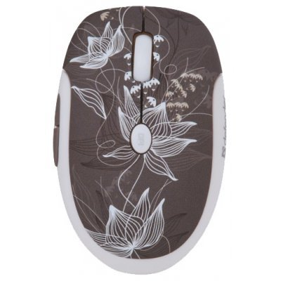 Мышь Defender To-GO MS-565 Nano Rock Bloom Grey USB (52569)