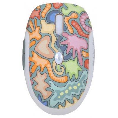 Мышь Defender To-GO MS-565 Nano Lolly Silver USB (52568)Мыши Defender<br>беспроводная мышь интерфейс USB для ноутбука светодиодная, 5 клавиш (2 программируемые) разрешение сенсора мыши 1600 dpi<br>