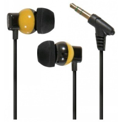Наушники Defender Bravo-816 (63816)Наушники Defender<br>Наушники Defender Bravo-816 желтый&amp;amp;черный. кабель 1,2м<br>