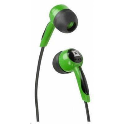 Наушники Defender Basic-604 зеленый (63607)Наушники Defender<br>Наушники Defender Basic-604 Green кабель 1,1 м<br>