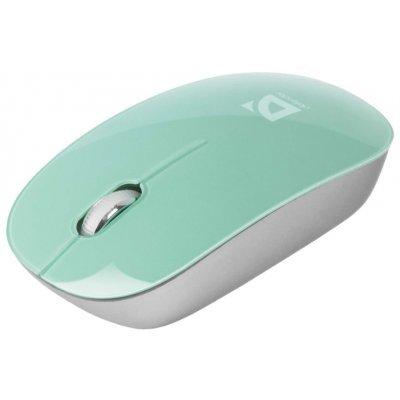 Мышь Defender Laguna MS-245 зеленый (52247)Мыши Defender<br>беспроводная мышь интерфейс USB для настольного компьютера светодиодная, 3 клавиши разрешение сенсора мыши 1000 dpi<br>