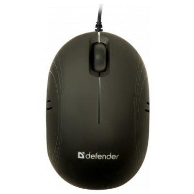 Мышь Defender Rainbow MS-770L Black USB (52771)Мыши Defender<br>проводная мышь интерфейс USB для настольного компьютера светодиодная, 3 клавиши разрешение сенсора мыши 1000 dpi<br>