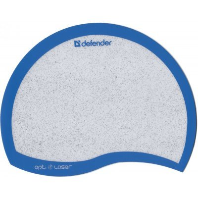 Коврик для мыши Defender Ergo opti-laser синий (50513) коврик для мыши defender гелевый easy work ergo черная лайкра нескользящ основа 260х225х5мм 50905