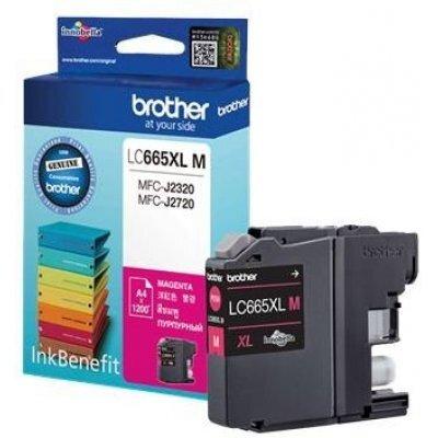 Картридж для струйных аппаратов Brother LC665XLM (LC665XLM)Картриджи для струйных аппаратов Brother<br>Картридж струйный Brother LC665XLM<br>