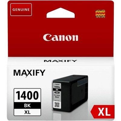 Картридж для струйных аппаратов Canon PGI-1400XL BK (9185B001) картридж canon pgi 1400xl m для maxify мв2040 и мв2340 пурпурный 900 стр