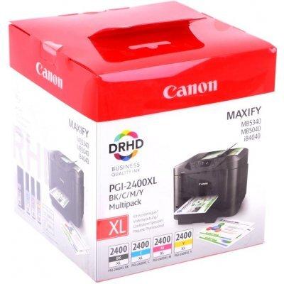 Картридж для струйных аппаратов Canon PGI-2400XL BK/C/M/Y EMB MULTI (9257B004)Картриджи для струйных аппаратов Canon<br>Картридж Canon PGI-2400XL BK/C/M/Y EMB MULTI для MAXIFY iB4040, МВ5040 и МВ5340. Мультипак.<br>