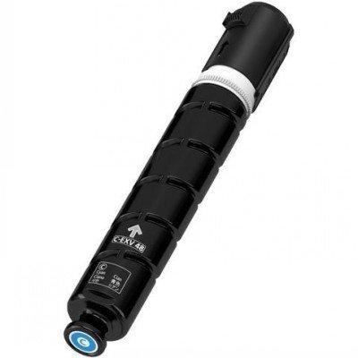 Тонер-картридж для лазерных аппаратов Canon C-EXV48C Голубой (9107B002) тонер canon c exv48y для ir c1325if 1335if желтый туба