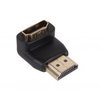 Адаптер HDMI 3Cott 3C-HDMIM-HDMIF-90R-AD207GP с HDMI A/M на A/F (3C-HDMIM-HDMIF-90R-AD207GP)Адаптеры HDMI 3Cott<br>Переходник 3Cott 3C-HDMIM-HDMIF-90R-AD207GP, с HDMI A/M на A/F угловой правый, позолоченные коннекто<br>
