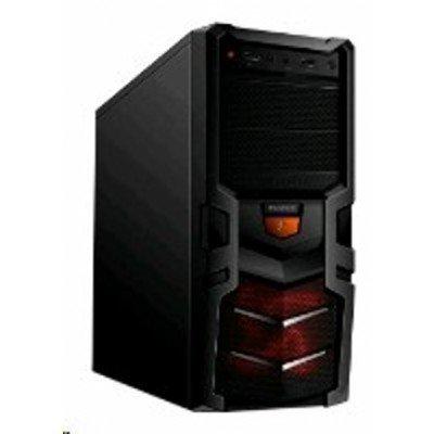 Корпус системного блока 3Cott 1815 w/o PSU Black (1815 w/o PSU Black) корпус zalman x7 black w o psu
