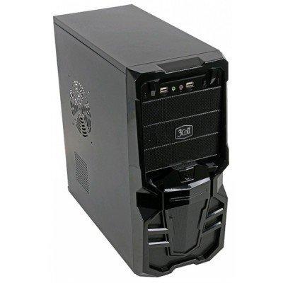 Корпус системного блока 3Cott 3C-ATX113G 500W Black (3C-ATX113G)Корпуса системного блока 3Cott<br>Корпус 3Cott 3C-ATX113G Goth для игрового компьютера, ATX, блок питания 500 Вт, выходы USB 2.0x2,<br>