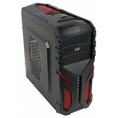 Корпус системного блока 3Cott 3C-ATX136G 700W Black (3C-ATX136G)Корпуса системного блока 3Cott<br>Корпус 3Cott 3C-ATX136G Shogun для игрового компьютера, ATX, блок питания 700 Вт 80+ PFC, выходы U<br>