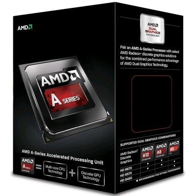 Процессор AMD A10 X4 7800 FM2+ Box (AD7800YBJABOX)Процессоры AMD <br>Процессор AMD A10 7800  (AD7800YBJABOX)<br>