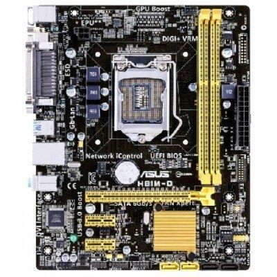 Материнская плата ПК ASUS H81M-D R2.0 (90MB0KD0-M0EAY0)Материнские платы ПК ASUS<br>Мат. плата ASUS H81M-D R2.0 &amp;lt;S1150, iH81, 2*DDR3, PCI-E16x, SVGA, SATA III, USB 3.0, COM, LPT, GB La<br>