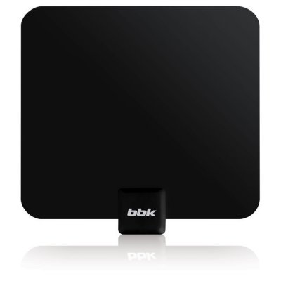 Антенна телевизионная BBK DA19 (DA19) ritmix rta 170 dvb t2 ultra slim комнатная цифровая антенна