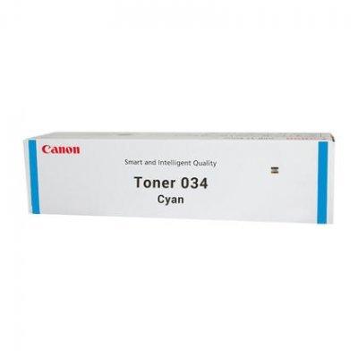 Тонер для лазерных аппаратов Canon C-EXV034 C Голубой (9453B001)Тонеры для лазерных аппаратов Canon<br>Тонер Canon C-EXV034 TONER C для  iR C1225/iF. Голубой. 7300 страниц.<br>