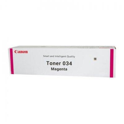 Тонер для лазерных аппаратов Canon C-EXV034 M Пурпурный (9452B001)Тонеры для лазерных аппаратов Canon<br>Тонер Canon C-EXV034 TONER M для  iR C1225/iF. Пурпурный. 7300 страниц.<br>