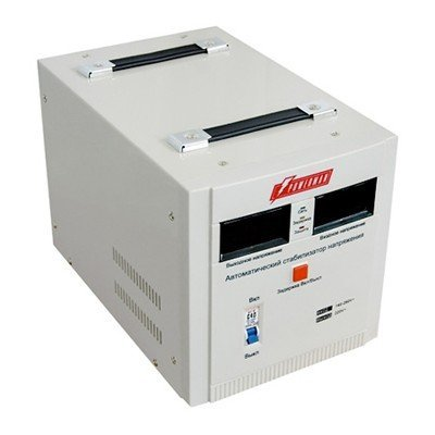 Стабилизатор напряжения Powerman AVS-1000D (AVS-1000D)Стабилизаторы напряжения Powerman<br>Powerman AVS-D Voltage Regulator 1000VA, Digital Indication, 2x Schuko Outlets, 1m Power Cord, 230V, 1 year warranty, White<br>