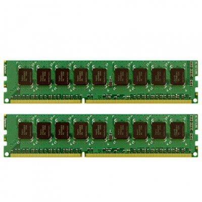 Модуль оперативной памяти сервера Synology 2 x 8Gb DDR3 ECC RAM Module (for expanding DS3615xs, RS3614xs+, RS3614xs/RS3614RPxs, RS10613xs+, RS3413xs+) (2X8GBECCRAM)Модули оперативной памяти серверов Synology<br>Комплект из 2 модулей ОЗУ Synology 8Gb DDR3 ECC разработан специально для Synology серии XS для расширения объема памяти. ОЗУ ECC в основном используется в серверах для защиты от ошибок, возникающих при хранении и передачи данных. К комплекту прилагается руководство по установке. Совместим с система ...<br>