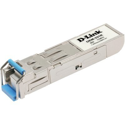 Трансивер D-Link DEM-331R/20KM/10/B2A (DEM-331R/20KM/10/B2A)Трансиверы D-Link<br>1-port mini-GBIC 1000Base-LX SMF WDM SFP Tranceiver (up to 20km, support 3.3V power, LC connector) (10 pcs bundle)<br>
