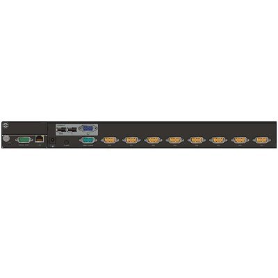 KVM переключатель D-Link DKVM-IP8/T1B (DKVM-IP8/T1B)KVM переключатели D-Link<br>DKVM-IP8 8-портовый KVM over IP-переключатель<br>