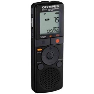 Цифровой диктофон Olympus VN-765 (VN-765)Цифровые диктофоны Olympus<br>Цифровой диктофон, объем встроенной памяти 4096Мб, частотный диапазон 150Гц-7.9КГц, ЖК дисплей, без батареек.<br>