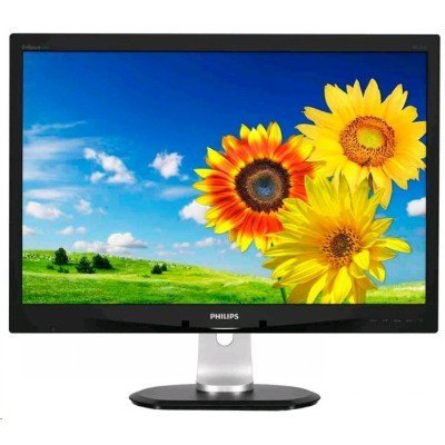 Монитор Philips 24 240B4QPYEB (00/01) (240B4QPYEB/00)Мониторы Philips<br>24 (1920*1200), 16:10, TFT PLS, LED, 250 /2, 1000:1, 5 ,  : 178/178, : DVI, DisplayPort, MM, 2 x USB, : , : 6.9<br>