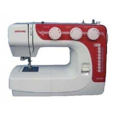 Швейная машина Janome RX-270 белый (RX-270S)Швейные машины Janome<br>швейная машина<br>    электромеханическое управление<br>    17 швейных операций<br>    автоматическая обработка петли<br>    рукавная платформа<br>