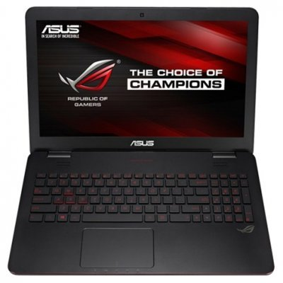 Ноутбук ASUS ROG G551JW-DM305H (90NB08B2-M03970) (90NB08B2-M03970)Ноутбуки ASUS<br>Asus G551JW i5-4200H 8Gb 2Tb nV GTX960M 2Gb 15,6 FHD DVD(DL) BT Cam 5000мАч Win8.1 Черный 90NB08B2-M03970<br>